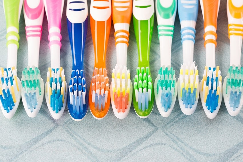 How to care for your toothbrush