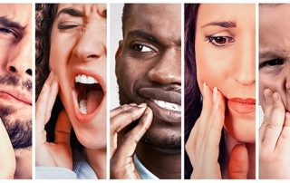 Men and Woman, all with teeth pain